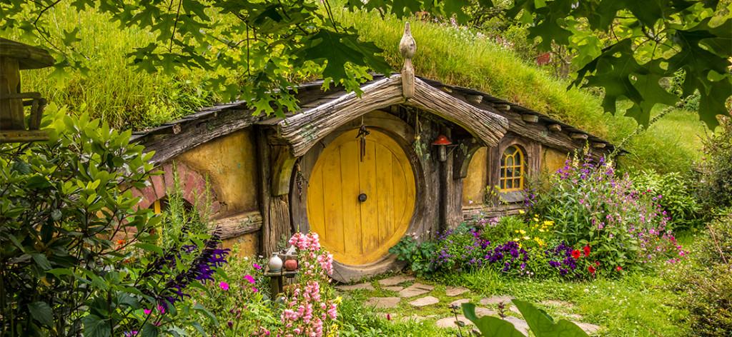Maison d'un Hobbit à Hobbiton