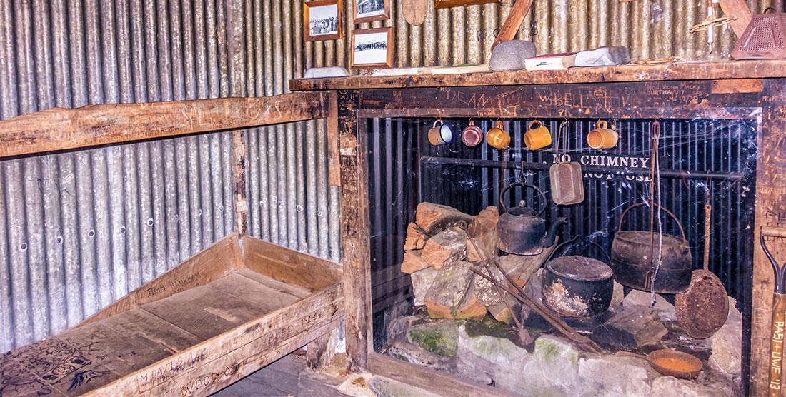 Old Waihohonu Hut, le plus vieux refuge de Nouvelle-Zélande