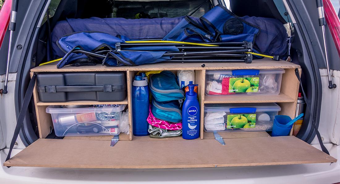 Notre petit meuble fait mains pour plus de confort et d'organisation