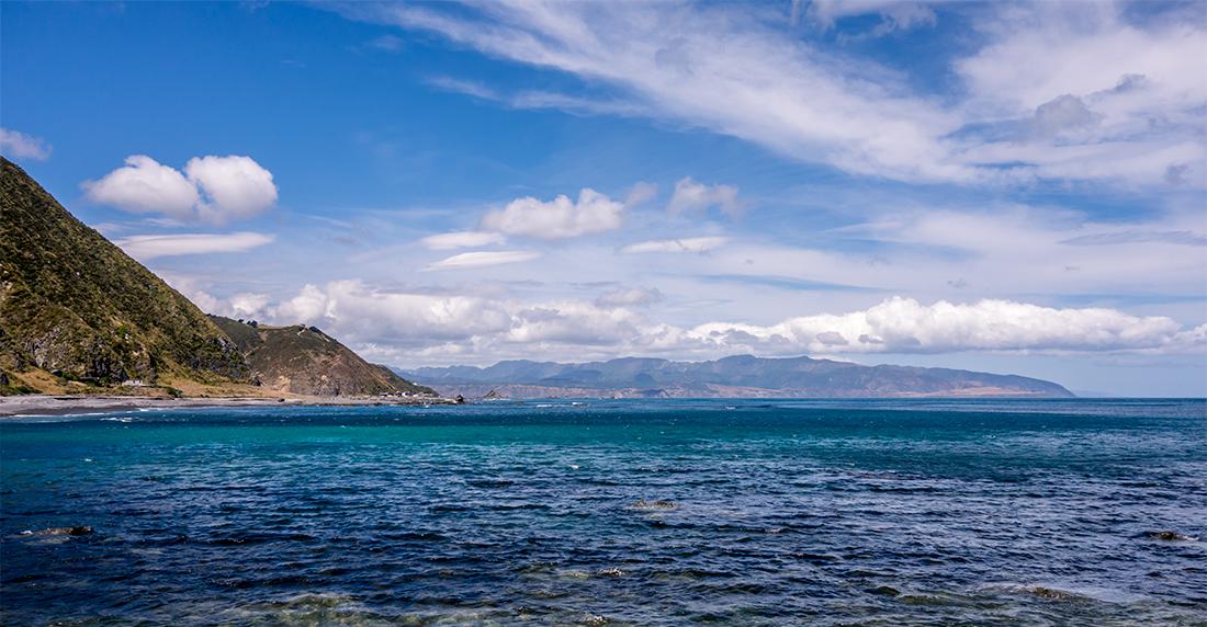 Petite ballade en direction des Red Rocks, au sud de Wellington.