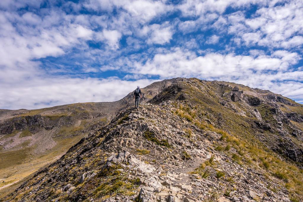 Sur le chemin pour Avalanche Peak