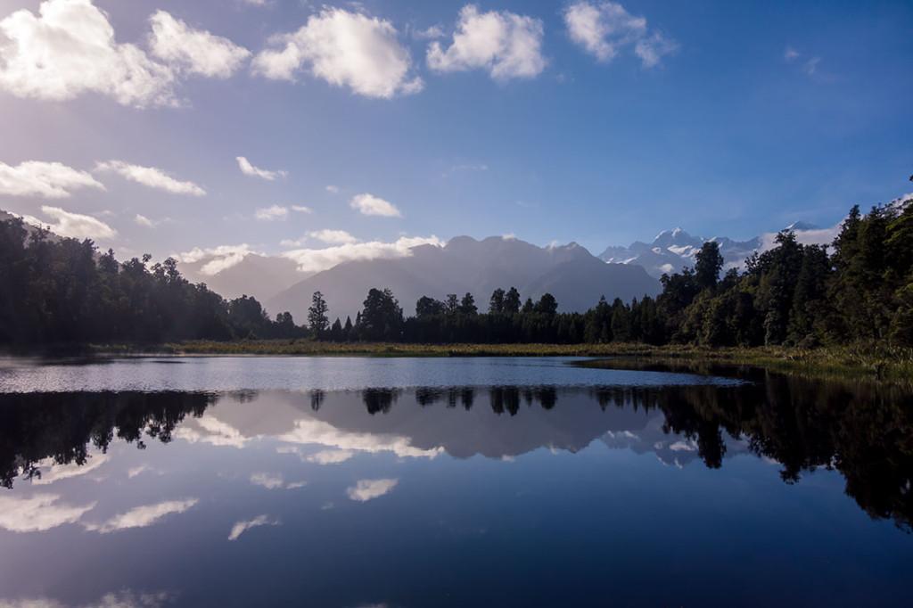 Au pied du lac Matheson