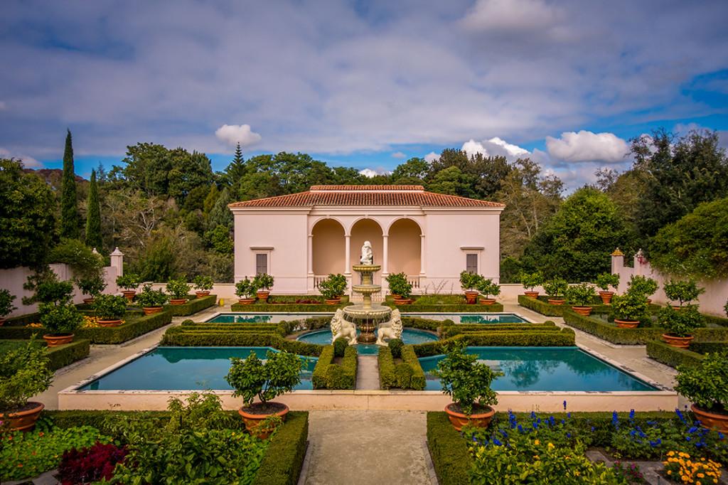 Jardin italien de la Renaissance, au Hamilton Garden.