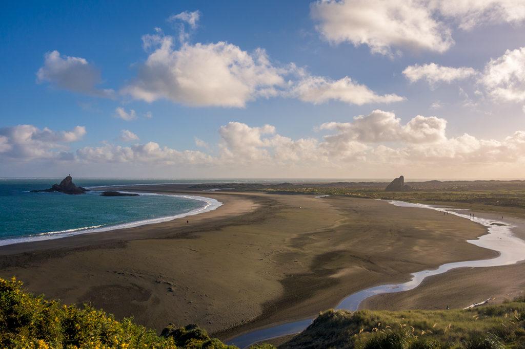 La grande plage de Whatipu
